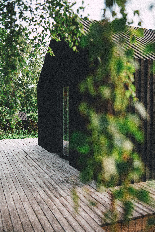 Terrassenholz Haus