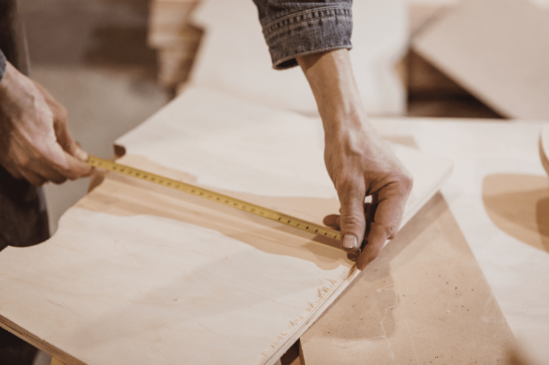 Bilderrahmen aus Holz Dekoration
