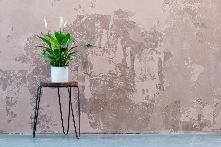 Pflanzenständer aus Holz