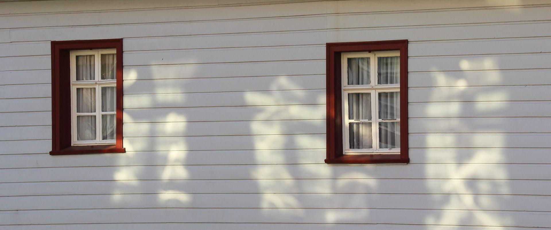 Holzfassade Fenster