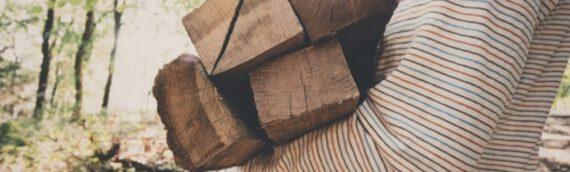 Vintage-Lampen aus Holzbalken – So einfach klappt das Upcycling