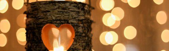 Für eine kuschelige Atmosphäre: Windlichter basteln
