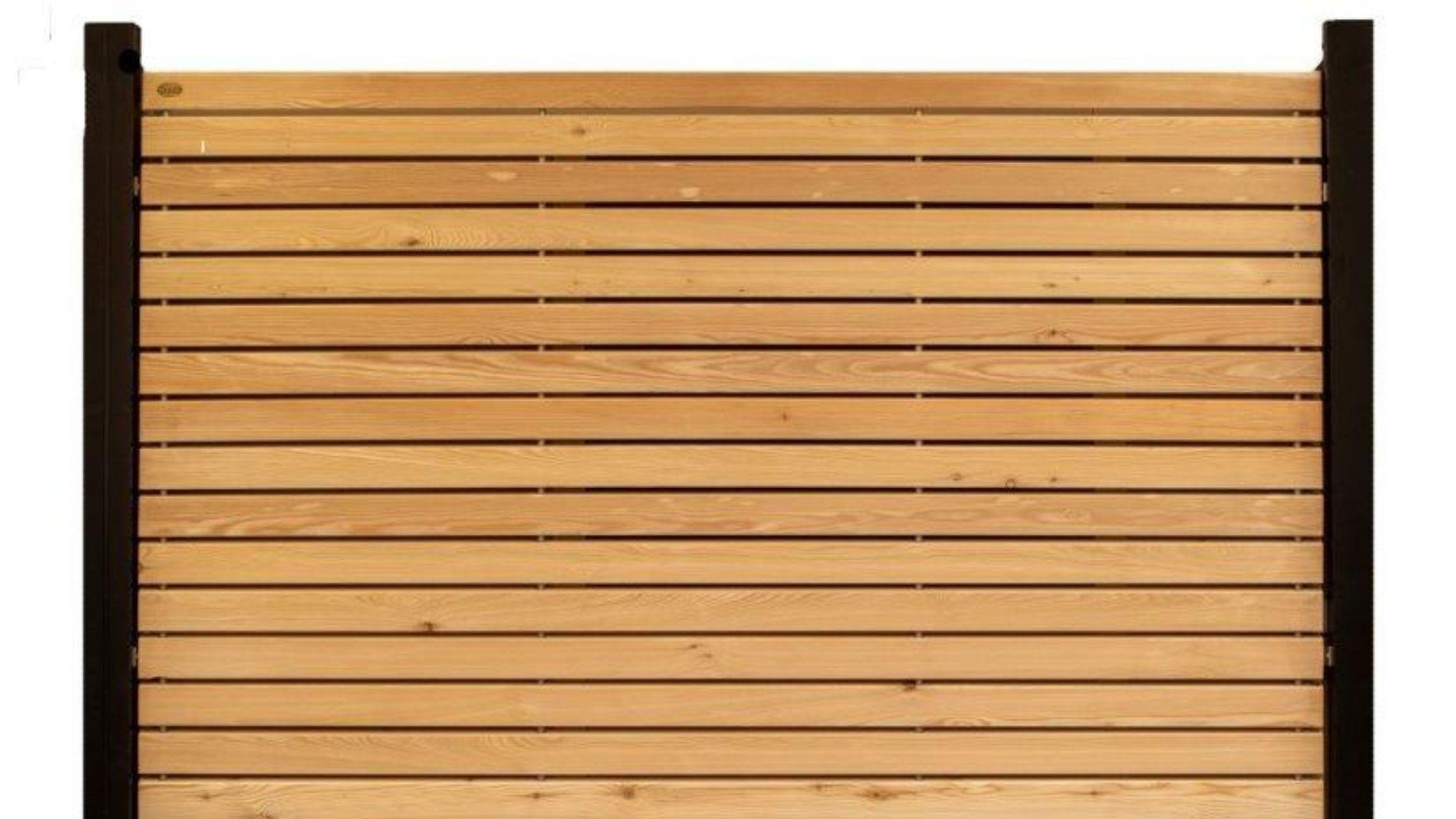 Sichtschutz Garten Holz
