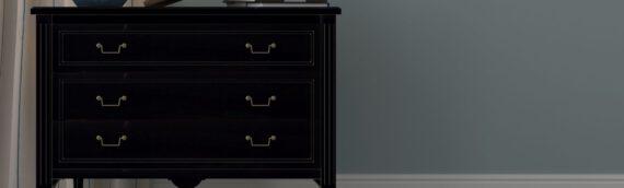 Holz-Lack in schwarz – Der edle Look für Ihre Möbelstücke